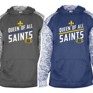new concept 32dc0 1a86d Queen of All Saints Football 2019 | Tshirts By Cleo